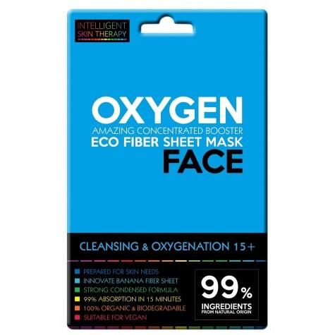 Maschera viso con ossigeno attivo