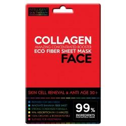 Maschera viso al collagene