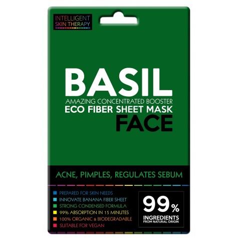 Maschera viso con estratto di basilico