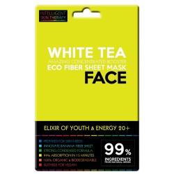 Maschera viso al tè bianco