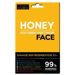 Maschera viso al miele e proteine di avena
