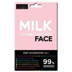 Maschera viso al latte