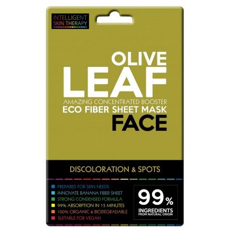 Maschera viso al miele e foglie di ulivo