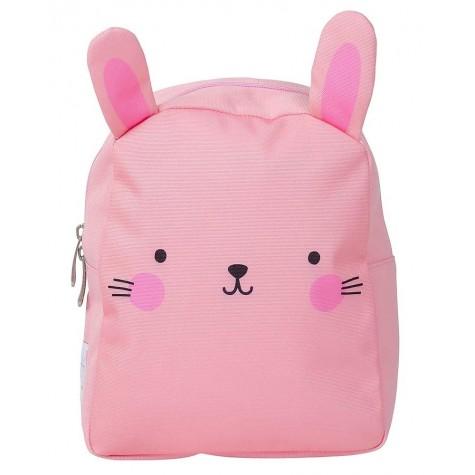 Zainetto piccolo bimba fantasia coniglietto rosa