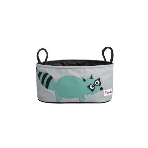 Portaoggetti per passeggino fantasia orsetto lavatore