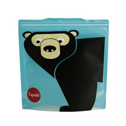 Maxi buste porta merenda fantasia orso