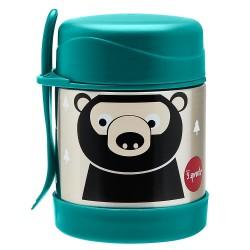 Termos porta cibo in acciaio fantasia orsetto + cucchiaio