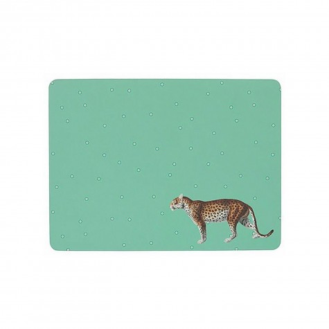 Tovaglietta americana rigida con fantasia ghepardo