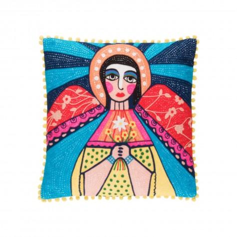 Cuscino Frida Kahlo angelo