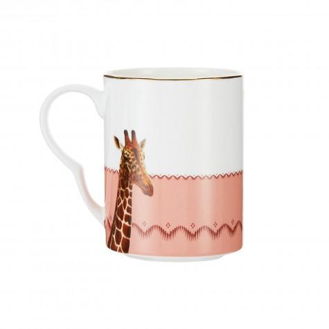 Mug in porcellana bicolor con...