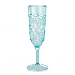 Calice da champagne azzurro...
