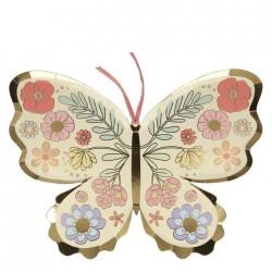 Piatti a forma di farfalla...