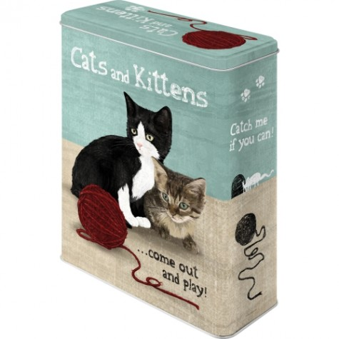Scatola retrò Cats&Kittens