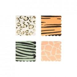 Tovagliolini di carta fantasia safari