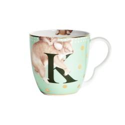 Tazza mug in porcellana con fantasia koala