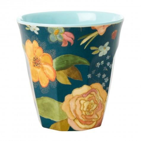Bicchiere in melamina fantasia fiori...
