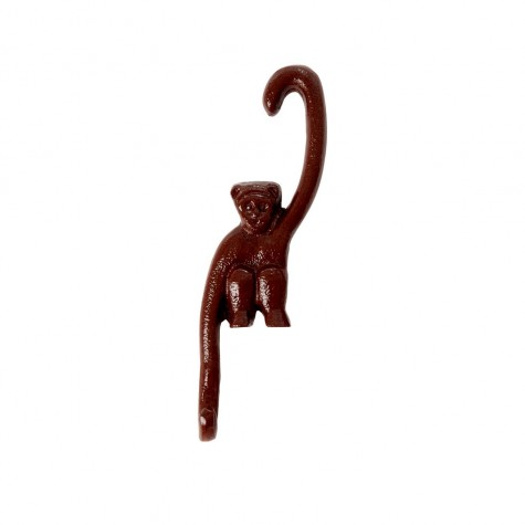 Appendiabiti a forma di scimmietta