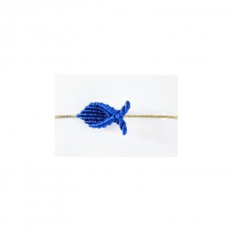 Braccialetto pesciolino blu