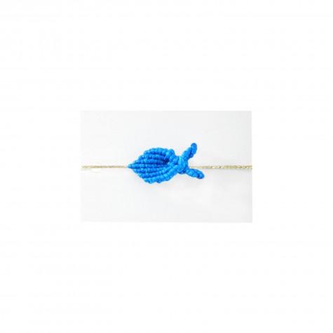 Braccialetto pesciolino azzurro mare