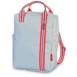 Zaino zipper azzurro 2.0