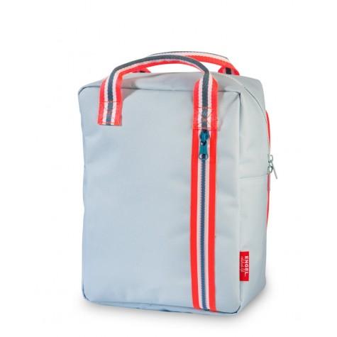 Zainetto zipper azzurro 2.0