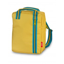 Zainetto zipper giallo...