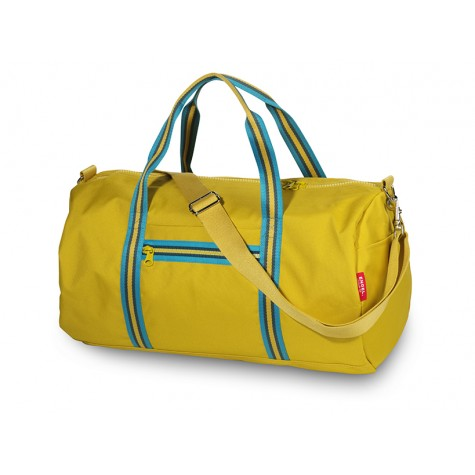 Borsone da viaggio Zipper giallo...