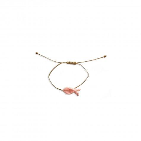 Braccialetto pesciolino rosa