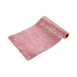 Runner da tavola rosa glitter