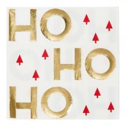 Tovaglioli natalizi Ho Ho Ho