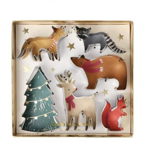 Stampini tagliabiscotti di Natale
