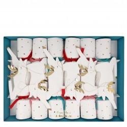 Segnaposti natalizi con renne