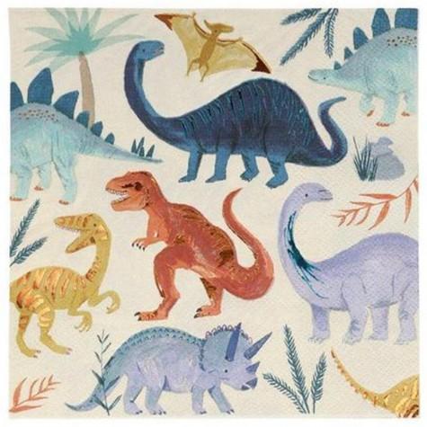 Tovaglioli di carta fantasia dinosauri