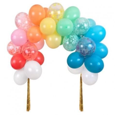 Arcobaleno di palloncini