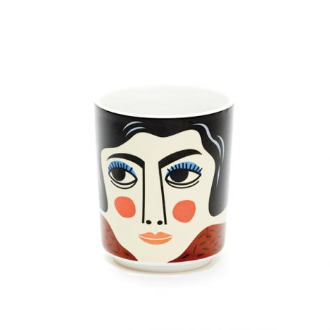 Vasetto in ceramica Mrs Edelmann