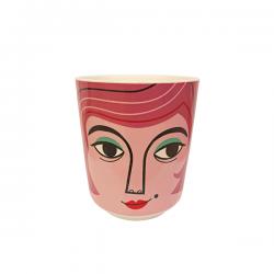 Vasetto in ceramica Mrs...