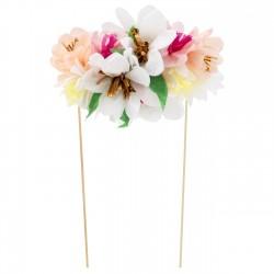 Topper per torte a Bouquet di fiori
