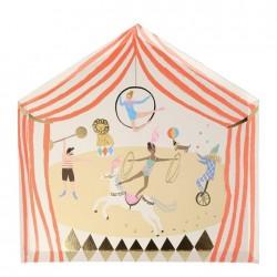 Piatti di carta fantasia circo