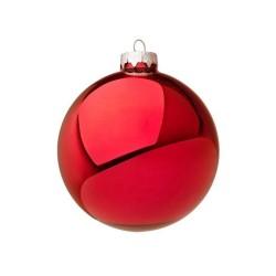 Pallina di Natale rosso lucido