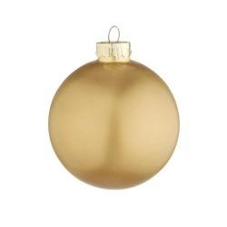 Pallina di Natale oro satinato