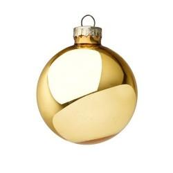 Pallina di Natale oro lucido