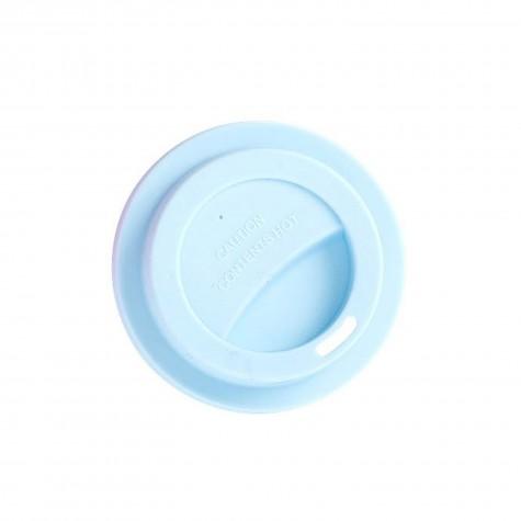 Coperchio azzurro per bicchiere piccolo