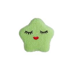 Spugna da cucina a forma di stellina verde