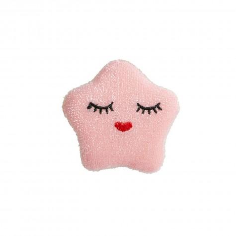 Spugna da cucina a forma di stellina rosa