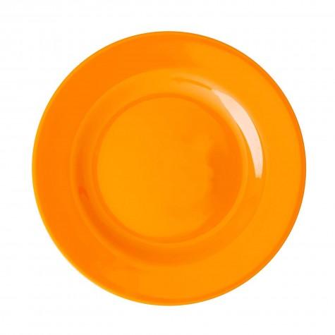 Piatto frutta tinta unita arancione mandarino