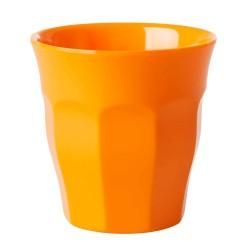 Bicchiere in melamina arancione mandarino