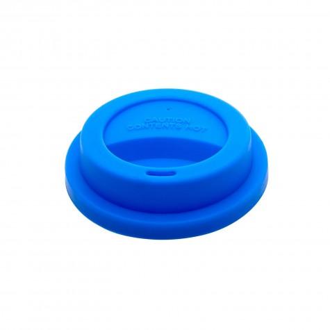 Coperchio azzurro per bicchieri