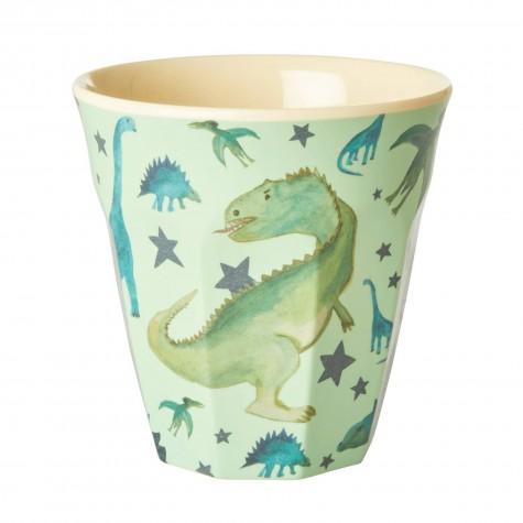 Bicchiere in melamina fantasia dinosauri