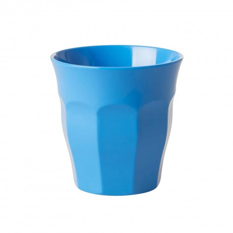 Bicchiere piccolo in melamina azzurra