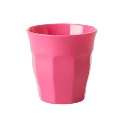 Bicchiere piccolo in melamina fucsia